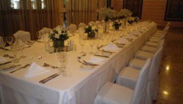 Champagne style wedding
