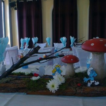 Christening (Strumf Story) & Candy Table