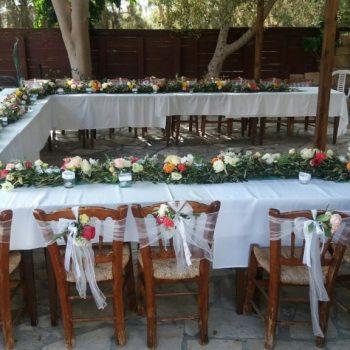 Olive Garland Wedding Decor